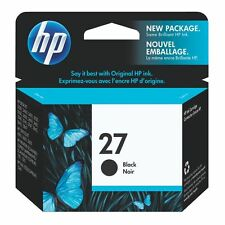 Original HP 27 C8727A black ink cartridge VAT included C8727AE