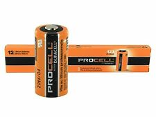 Duracell Procell 3V CR123A Lithium Battery PL123A 5 Pack Bulk Exp 2026