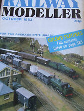 RAILWAY MODELLER MAGAZINE OCT 1983 TRETFORD JUNCTION OIL TANKER LONDON CENTRAL