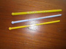 Hotel Concord Kiamesha Lake NY New York 3 Swizzle Sticks Drink Stirrers