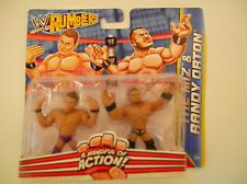 MATTEL WWE RUMBLERS ACTION FIGURES THE MIZ & RANDY ORTON