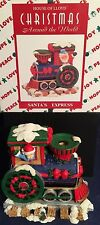 New Rare Vtg House of Lloyd Christmas Around the World Santa Express Candleholde
