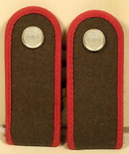 East German Germany Artillery Private Soldat Shoulder Boards Rank NVA DDR GDR