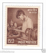 PHILA359 INDIA 1961 SINGLE MINT STAMP OF NATIONAL CHILDREN DAY MNH