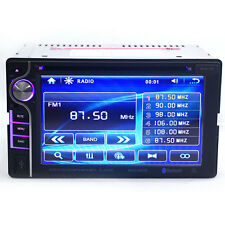"6.2"" HD 2 DIN in Dash Car CD DVD Player Touch Screen Radio Stereo Bluetooth MP3"