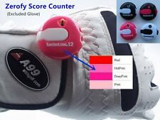 Golf Zerofy Score Counter - Handy, Small enough to attach to Glove