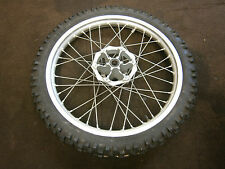 YAMAHA XT660R XT660 XT 660 R FRONT WHEEL RIM HUB 21x1.85 GOOD STRAIGHT WHEEL