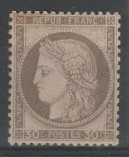 """FRANCE STAMP TIMBRE  N° 56 """" CERES 30c  BRUN 1872 """" NEUF x TB   N941"""