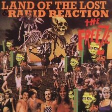 Land of the Lost/Rabid Reaction by The Freeze (Punk) (CD, Oct-2003, Dr....