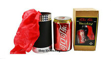 Vanishing Cola Can to Silk Magic Trick Close Up Party Show Stage Parlor T11 FISM