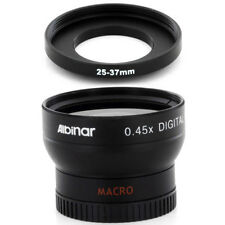 Albinar 25mm Wide Angle Lens with Macro for Sony Handycam DCR-HC28 Camcorder,New