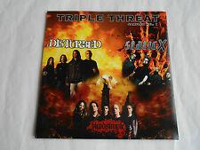 Disturbed- Static X- Bloodsimple Triple Threat CD Sampler Vol.1 Five Tracks
