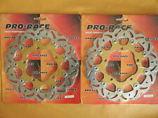 Suzuki DL650 Vstrom DL 650 Floating Front Brake Disc x2 GSX GSF GSR 750 1250