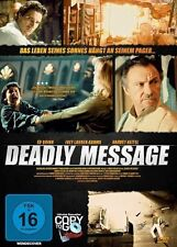 DEADLY MESSAGE - Ed Quinn, Harvey Keitel (DVD) *NEU OPV*