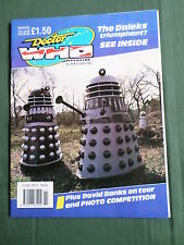 DOCTOR WHO MAG - NO 155 - DEC 1989
