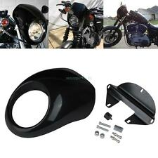 Headlight Front Fairing Cowl Cafe Racer For Harley Sportster Dyna Glide FX XL