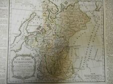 Carte de la Russie européenne  par Brion  - 1766 .