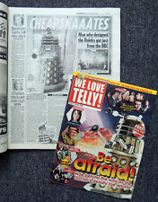 DAILY MIRROR NEWSPAPER & TV MAGAZINE 30 APR 2005 . DOCTOR WHO DALEK FRONT COVER