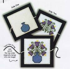 Calico Crossroads BLOSSOMS Charts/Perforated Paper/braid Spinning Toy flowers