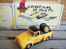 MATCHBOX CATERPILLAR BRAND 1955 FORD PICKUP TRUCK, DIECAST, GOOD USED CONDITION