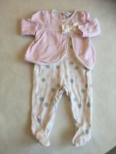 Baby Girls Clothes 3-6 Months - Pretty  BabyGrow Outfit