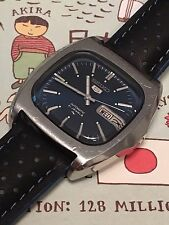 Beautiful Vintage Seiko 'Monaco' 7019-5000 Automatic 'TV' Wrist Watch