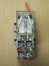 OMRON RELAY LY2 with DAYTON BASE 2A582E or 2A582F
