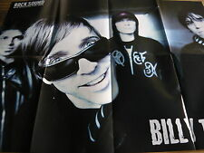 BILLY TALENT - HUGE FOLD-OUT MAGAZINE POSTER (REF C)