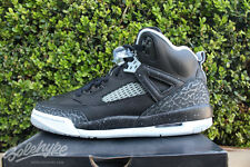 NIKE AIR JORDAN SPIZIKE GS SZ 6 Y BLACK COOL GREY OREO 317321 003