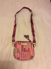 STUPENDO Autentico Juicy Couture Logo Tracolla Borsa RRP £ 115 Selfridges