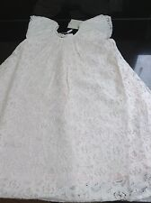 MONSOON IVORY 'LUCETTE' LACE OCCASION DRESS. AGE 12-18 MONTHS. NEW WITH TAG.