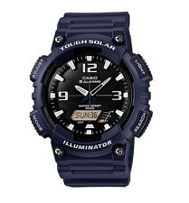 Casio Watch * AQS810W-2A2 Tough Solar Illuminator Blue Resin COD PayPal