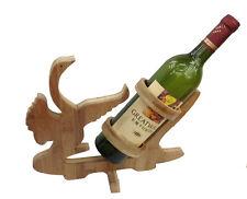 Design Cigno Porta Bottiglie Di Vino Legno Mensole Del