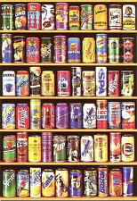 Puzzle latas-collage, 1500 piezas, bebida, coca cola, fanta, sprite, educa