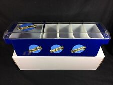 Blue Moon Belgium Ale Beer Condiment Holder Caddy Bar ABS Tray New In Box!