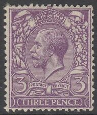GB KGV 3d Violet SG423 Three Pence King George V 1924 Mint Hinged Stamp