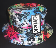 MENS CHUCK PALMS MULTICOLOR BUCKET HAT ONE SIZE