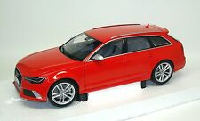 AUDI RS6 Avant C7 2013 misanorot misano red Minichamps 1:18 dealer 5011216215