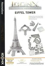Fascinations Iconx EIFFEL TOWER 3D Puzzle Laser Cut Metal Earth Steel Model Kit