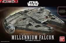 MILLENNIUM Falcon star wars la forza si sveglia SCALA 1/144 MODEL KIT BANDAI JAPAN