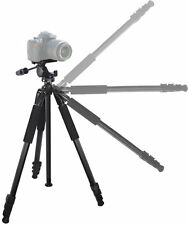 "80"" True Professional Heavy Duty Tripod With Case For Sony DSLR-A900 DSLR-A390L"