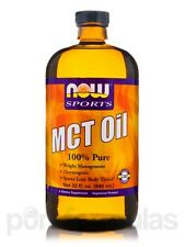 NOW� Sports - MCT Oil - 32 fl. oz (946 ml) by NOW