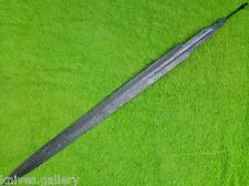 """CUSTOM DAMASCUS STEEL HUNTING KNIFE / VIKING RAPIER SWORD BLANK BLADE DAGGER 30"""""""