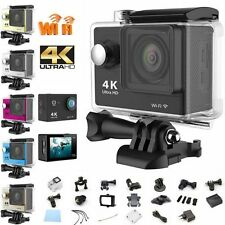 4K Ultra HD 1080P WiFi Waterproof Action Camera Sports DV Video Camcorder H9 EM