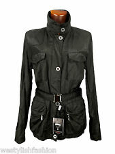 FLY CHARTER'S AUTHENTICS trench donna nero woman black jacket RETAIL € 360,00