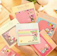 Korean Stationery Little Talk PonyBrown Paper Paste Memo Flags Sticky Notes