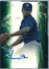 2014 Bowman Sterling Green Ref Refractor Luis Severino Rc Auto # 117/125