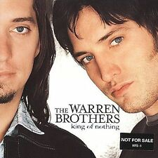 THE WARREN BROTHERS - KING OF NOTHING rare Country Music cd 11 songs 2000