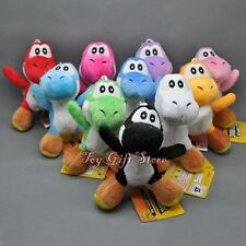 10 pcs New Super Mario Bros. Plush Doll YOSHI 4""
