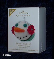 2012 Hallmark SEASON'S TREATINGS! Christmas Cupcakes Special Edition Ornament